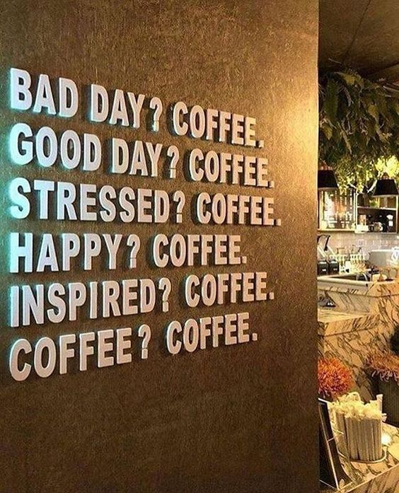 Poster de café