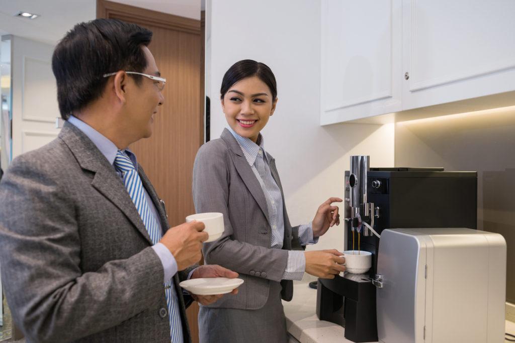location de machine à café : l'astuce marketing